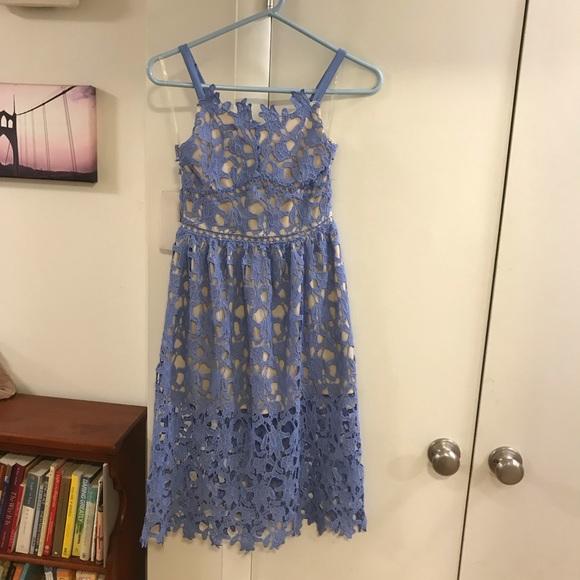 a220e03a4 Girl's lace Periwinkle dress. M_5bf07c2a3c98447e01415856